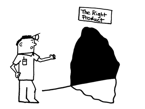 Exploration du « right product »